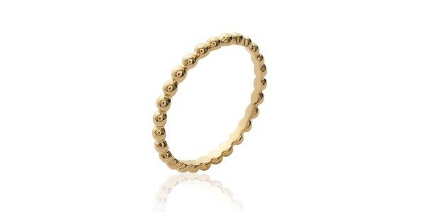 Dámský pozlacený prstýnek La Mimossa