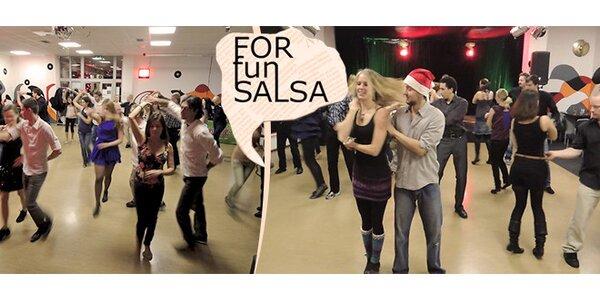 Párový tanec pro každého, 5 lekcí - Salsa, Bachata, Rueda de Casino