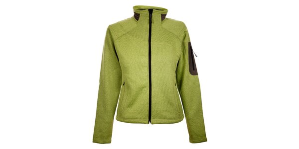 Dámský světle zelený sportovní svetr Trimm