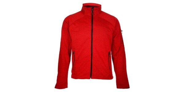 Pánský červený sportovní svetr Trimm