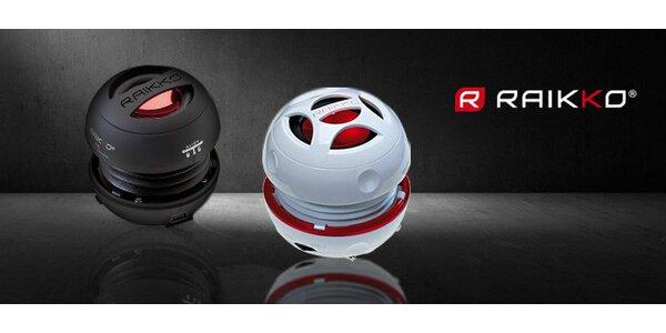 Kvalitní přenosné reproduktory Raikko