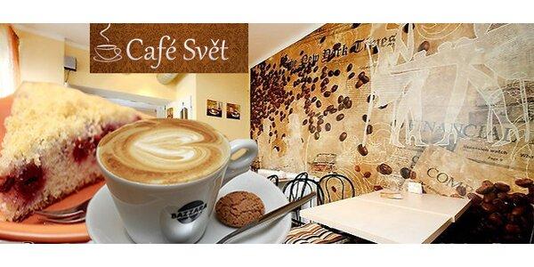 Menu pro dva v malé stylové kavárně