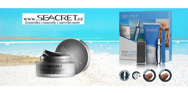 Kosmetika Seacret z Mrtvého moře