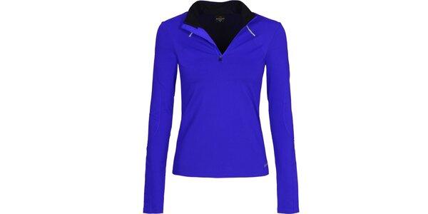 Dámské modré běžecké tričko Bergson