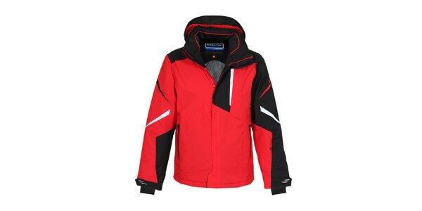 Pánská rudá zimní bunda Bergson