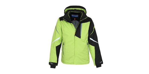 Pánská zelená zimní bunda Bergson