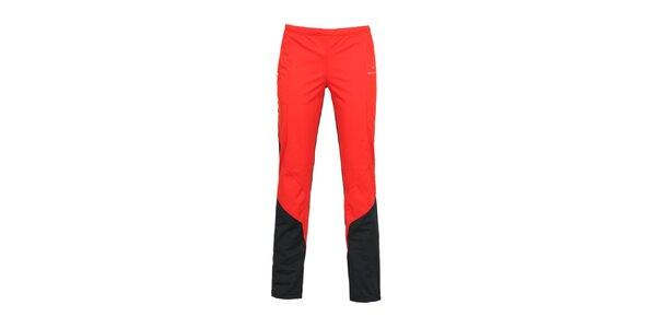Dámské červené sportovní kalhoty Bergson