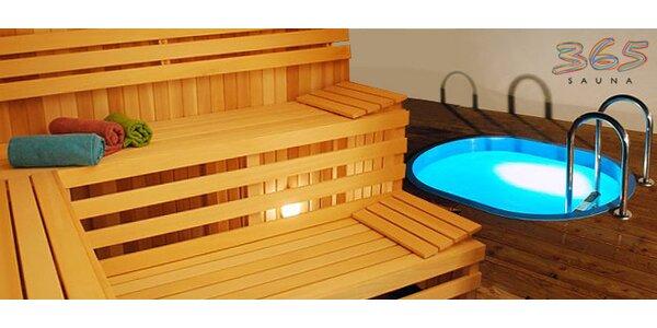 Saunové centrum, vířivka i solná kabina Saltair!