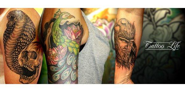 Osobité tetování dle výběru (5x5 či 10x10 cm)
