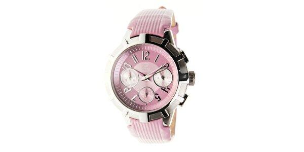 Dámské světle růžové hodinky Royal London