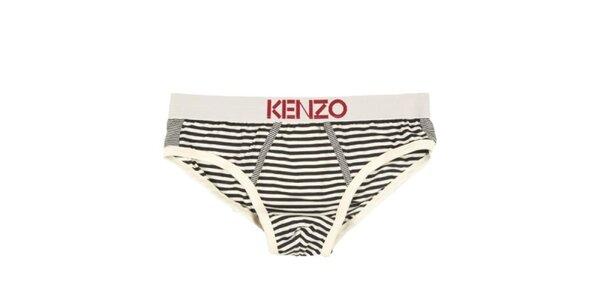 Pánské pruhované slipy Kenzo
