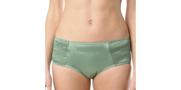 Dámské zelené hedvábné kalhotky Kenzo