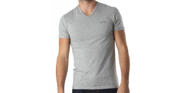 Pánské šedé triko Kenzo
