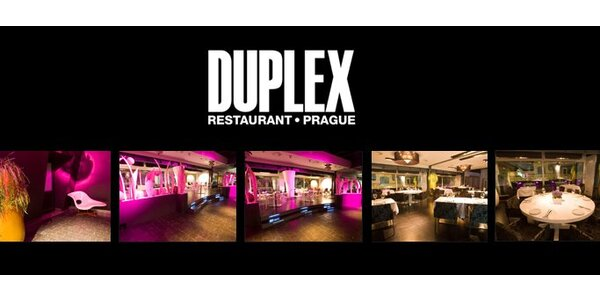 399 Kč za konzumaci v hodnotě 1000 Kč v Restaurantu Duplex. Sleva 60 %.