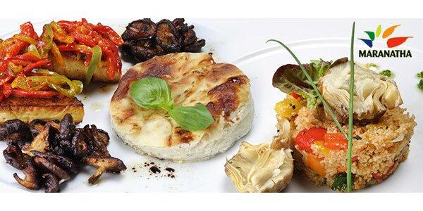 40% sleva na jídla ve vegetariánské restauraci Maranatha