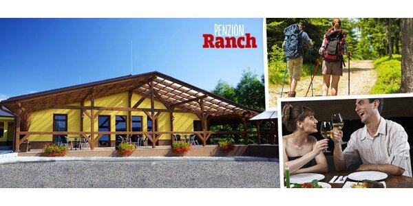 Rodinná dovolená na ranči s koňmi a poníky
