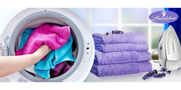 Služby Levandulové prádelny se slevou 40 %