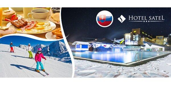 Zimní Tatry pro celou rodinu nebo pro dva