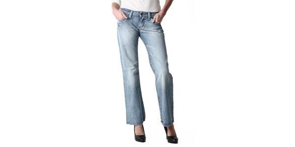 Dámské široké modré džíny Replay