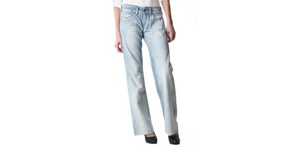 Dámské světle modré široké džíny Replay