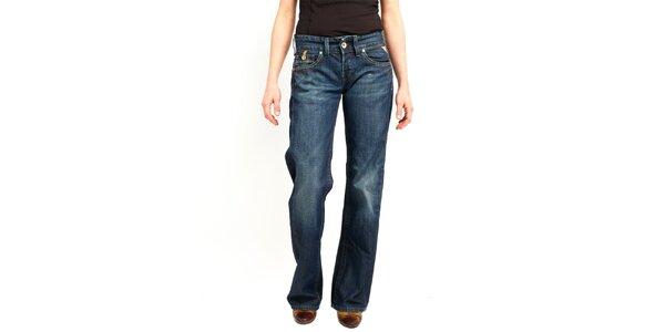 Dámské modré volné džíny Replay