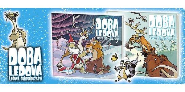 Komiksové knihy Doba ledová 1 a 2 pro malé čtenáře