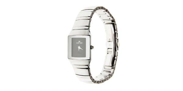 Dámské náramkové hodinky Danish Design s černým ciferníkem
