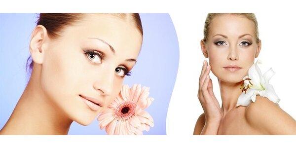 Kosmetické ošetření pleti u Vás doma - na výběr ze dvou nadupaných balíčků