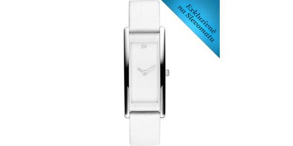 Dámské náramkové bílé hodinky Danish Design