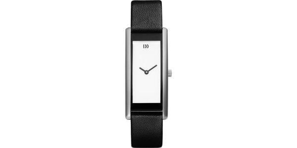 Dámské náramkové černé hodinky Danish Design