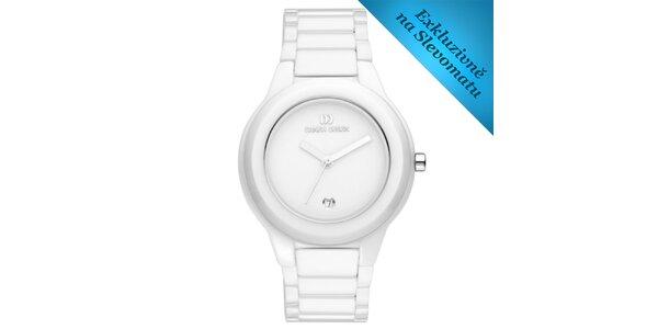 Dámské bílé keramické hodinky Danish Design