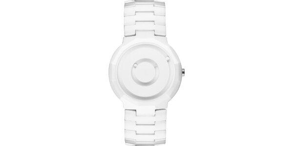 Bílé keramické hodinky Danish Design