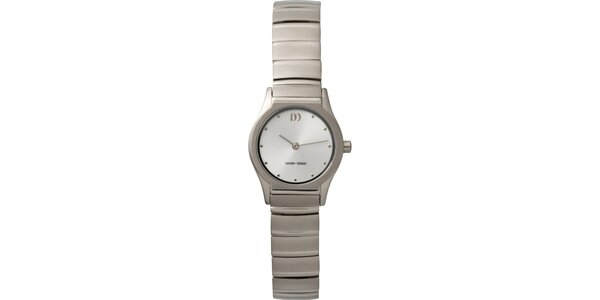 Dámské analogové titanové hodinky Danish Design
