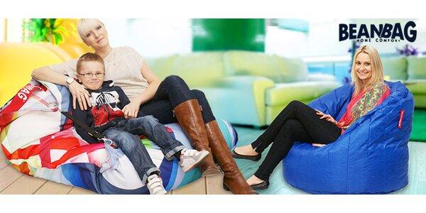 Kvalitní a moderní sedací pytle BeanBag