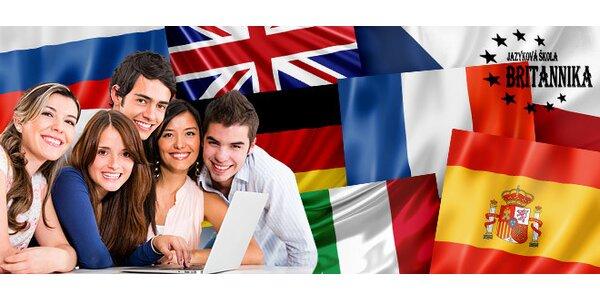 Jarní jazykové kurzy ve škole Britannika