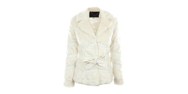 Dámský krémově bílý kožíšek Company&Co