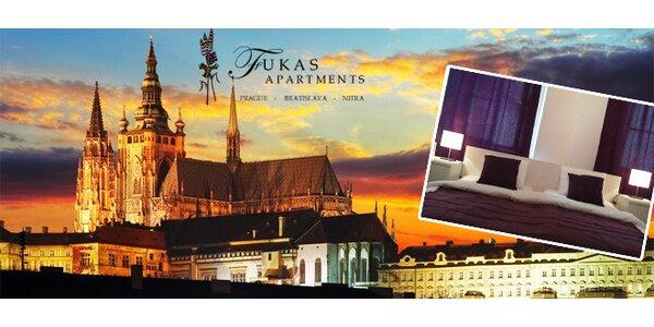 2denní pobyt pro dvě osoby v romantických apartmánech v centru Prahy