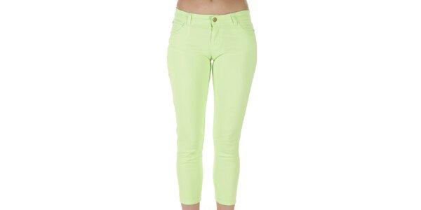 Dámské zelené kalhoty Ada Gatti