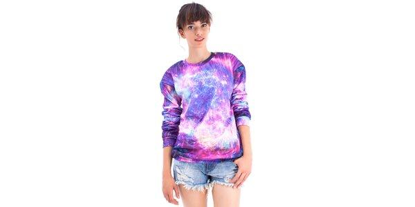 Dámský fialový svetřík Mr. GUGU & Ms. GO
