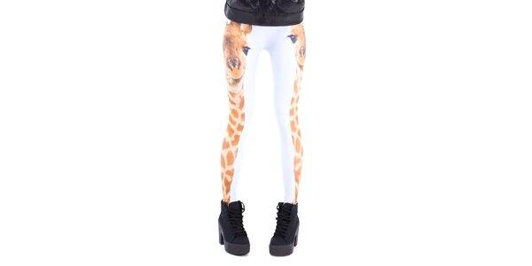 Dámské legíny s žirafou Mr. GUGU & Ms. GO