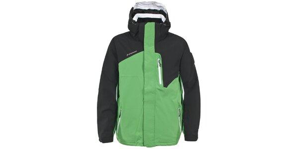 Pánská zelenočerná lyžařská bunda Trespass