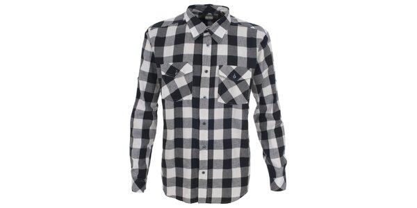 Pánská bíle kostkovaná košile Trespass