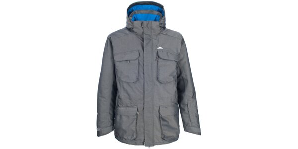 Pánská šedá lyžařská bunda Trespass