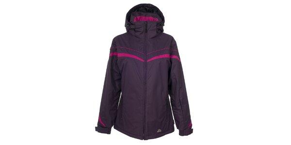 Dámská fialová lyžařská bunda Trespass