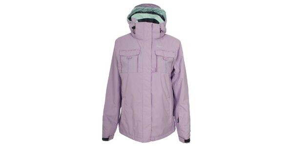 Dámská světle fialová lyžarská bunda Trespass