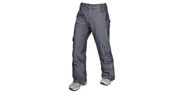 Dámské šedé lyžařské kalhoty Trespass