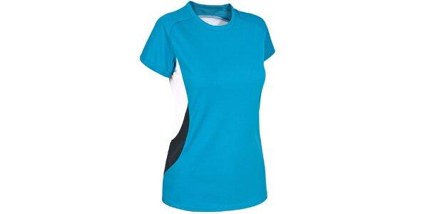 Dámské tyrkysové rychleschnoucí tričko Trespass