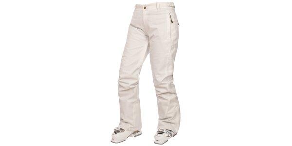 Dámské krémově bílé lyžařské kalhoty Trespass