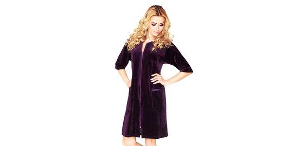 Dámské fialové domácí šaty Wanmar