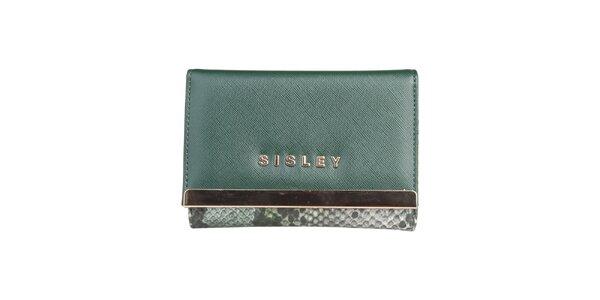 Dámská zelená peněženka Sisley